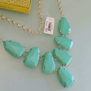 Kendra Scott Harlie Necklace Mint Seafoam